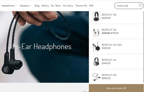 Turbo Theme Shopify Search
