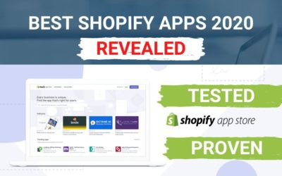 Best Shopify Apps 2020 – Proven Apps To Increase Sales