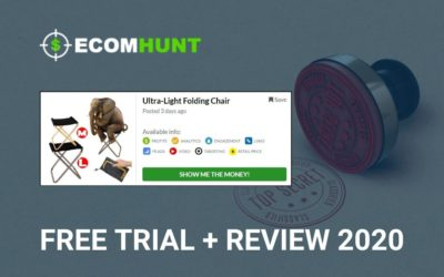 Ecomhunt Review Free Trial – Is It Worth Buying in 2020
